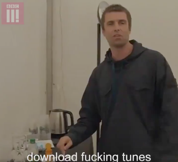 No One Buys Records Anymore So Liam Gallagher Has To Make His Own Tea