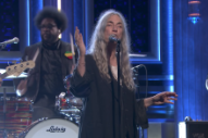 Watch Patti Smith Perform &#8220;People Have The Power&#8221; On <em>Fallon</em>