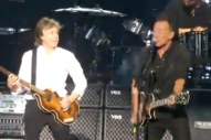 Watch Bruce Springsteen Join Paul McCartney At MSG