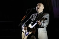"Watch Billy Corgan Cover Miley Cyrus' ""Wrecking Ball"" In Toronto"