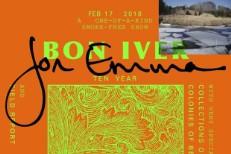 Bon Iver anniversary show