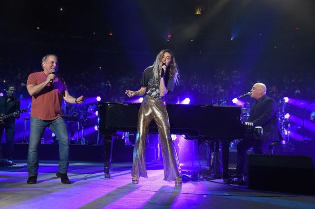 Billy Joel, Paul Simon, & Miley Cyrus