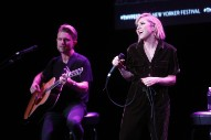 """Watch Carly Rae Jepsen Perform """"Cut To The Feeling"""" Acoustic At New Yorker Festival"""