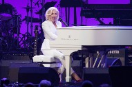 Watch Lady Gaga's Surprise Performance At Hurricane Benefit Featuring All Five Living Former US Presidents