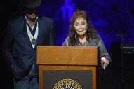 Loretta Lynn, Recovering From Stroke, Makes Surprise Appearance For Country Music Hall Of Fame Induction