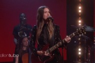 Watch HAIM Play &#8220;Little Of Your Love&#8221; On <em>Ellen</em>