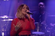 Watch Julia Michaels Sing &#8220;Worst In Me,&#8221; Talk About Her Nerves On <em>The Tonight Show</em>