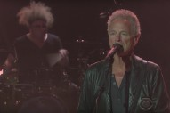 Watch Lindsey Buckingham &#038; Christine McVie Do &#8220;Lay Down For Free&#8221; On <em>James Corden</em>