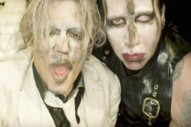 "Marilyn Manson – ""SAY10″ Video (Feat. Johnny Depp) (NSFW)"