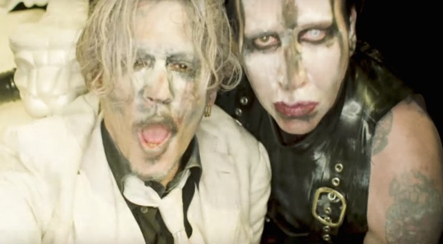 marilyn manson say10 video feat johnny depp nsfw stereogum. Black Bedroom Furniture Sets. Home Design Ideas
