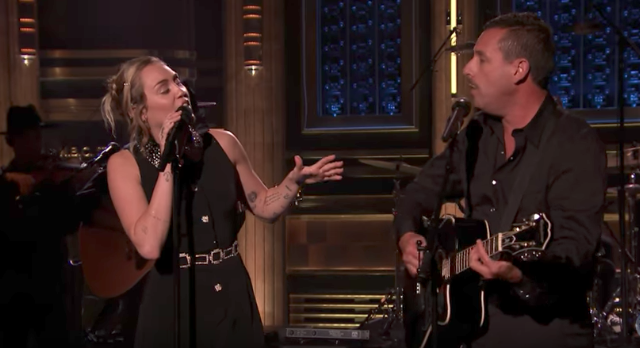 Watch Miley Cyrus & Adam Sandler Cover Dido In Tribute To Las Vegas Shooting Victims