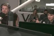 Watch James Corden Chat With Ezra Koenig On Beats 1