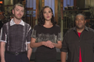 Watch Sam Smith&#8217;s <em>Saturday Night Live</em> Promos With Gal Gadot