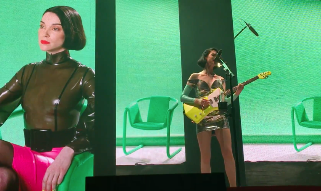 Watch St. Vincent Debut New Songs