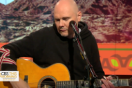 Watch William Patrick Corgan Talk New Solo Album, Play Three Songs On <em>CBS This Morning</em>