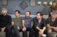 Watch The Shins Take Part In A Goofy Backstage Game Show At <em>James Corden</em>