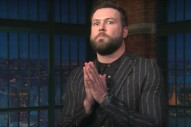 Watch Taran Killam's Impression Of Eminem's Trump Freestyle