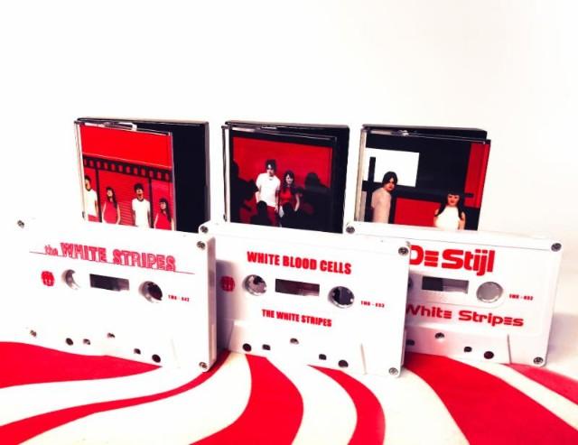 The White Stripes cassettes