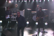 "Watch Liam Gallagher Perform ""Wall Of Glass"" For ""Knobhead"" James Corden"