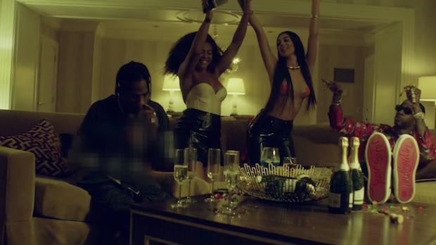"be0b6653720b 2 Chainz – ""4 AM"" (Feat. Travis Scott) Video - Stereogum"