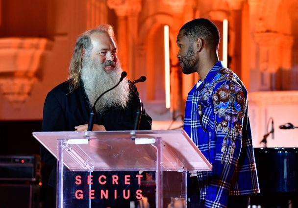 frank ocean rick rubin s big spotify awards appearance was pretty anticlimactic stereogum. Black Bedroom Furniture Sets. Home Design Ideas