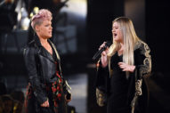 Watch Pink & Kelly Clarkson Cover R.E.M. To Open The AMAs