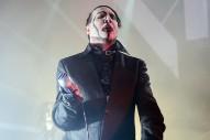 Marilyn Manson, Like An Asshole, Pointed A Fake Assault Rifle At A San Bernardino Audience Last Night