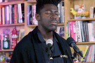 Watch Moses Sumney's Stunning Tiny Desk Concert