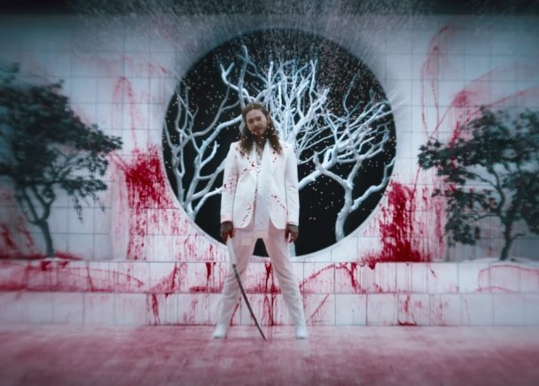 Post Malone Rockstar Feat 21 Savage Video Stereogum