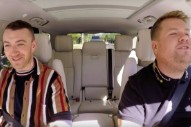 Watch Sam Smith Do Carpool Karaoke With James Corden