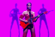 Watch St. Vincent Perform, Johnny Depp Joke About <em>MASSEDUCTION</em> Album Art On <em>Graham Norton</em>
