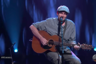 "Watch James Taylor Surprise Jimmy Kimmel With ""Sweet Baby James"" On His 50th Birthday Show"
