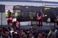 "Watch The White Stripes Play ""We're Going To Be Friends"" At A New Zealand Elementary School In 2003"