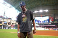 Watch Travis Scott Celebrate The Houston Astros' World Series Win