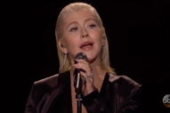 Watch Christina Aguilera Sing Whitney Houston&#8217;s <i>The Bodyguard</i> Songs At The AMAs