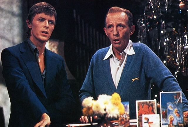 photo of bing crosby and david bowie - David Bowie Christmas