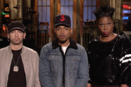 Watch Chance The Rapper&#8217;s <em>SNL</em> Promo With Eminem &#038; Leslie Jones