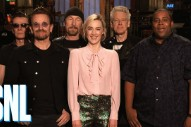 Watch U2 &#038; Saoirse Ronan&#8217;s Very Irish <em>SNL</em> Promo