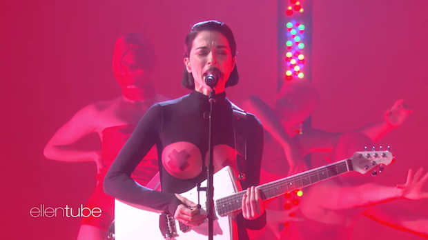 Watch St Vincent Perform Los Ageless On Ellen Stereogum