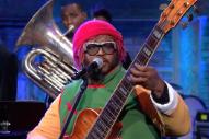 Watch Thundercat Perform In A <em>Dragon Ball-Z</em> Costume On <em>Colbert</em>
