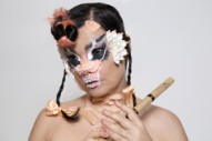 "Björk – ""Blissing Me (serpentwithfeet Remix)"" & ""Blissing Me (Harp Version)"""