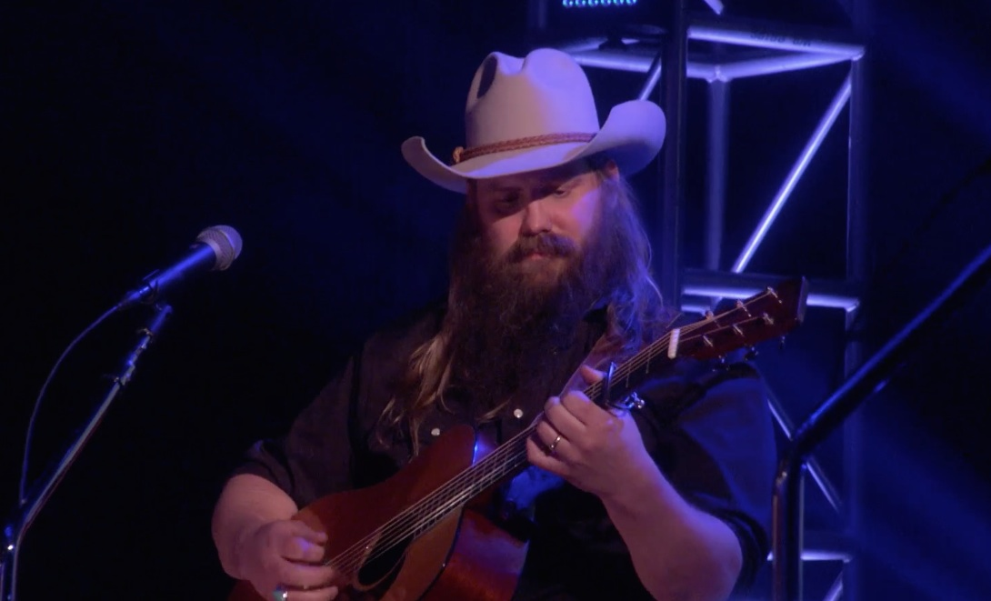 "Watch Chris Stapleton Sing ""Millionaire"" On Ellen"