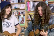 Watch Courtney Barnett & Kurt Vile's Shaggy, Charming Tiny Desk Concert