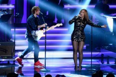 Ed Sheeran and Beyoncé