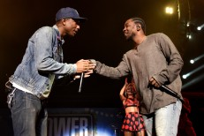 Pharrell and Kendrick Lamar