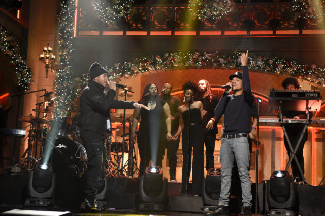 Chance Christmas Album.Chance The Rapper Jeremih Releasing Expanded Merry