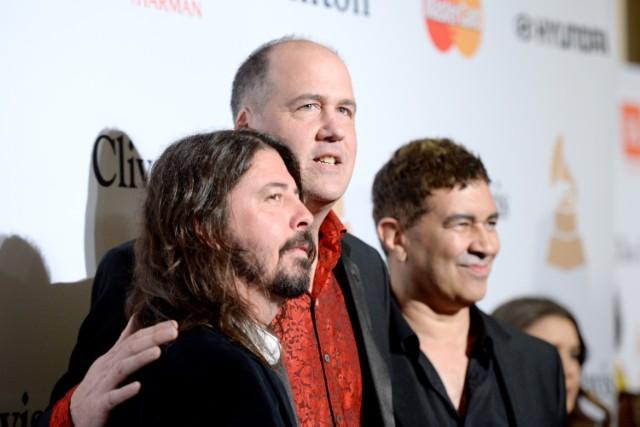 Dave Grohl, Krist Novoselic, & Pat Smear