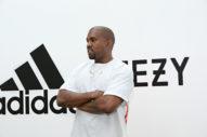 Santa Kanye Gifts Kim Adidas Socks, Stock