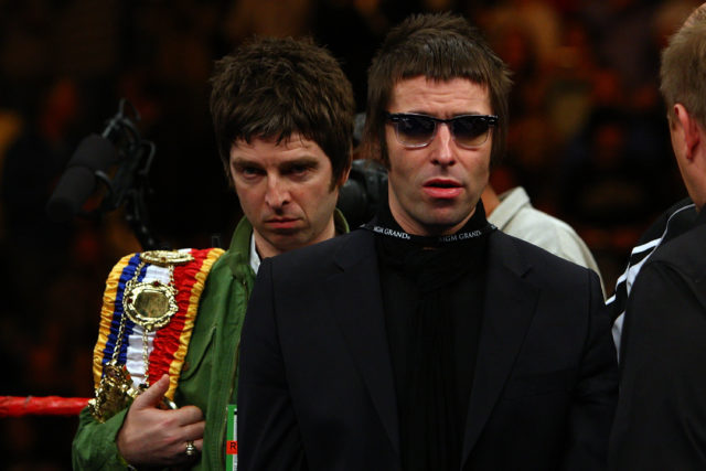 Liam Gallagher Says He and Noel Have Made Up