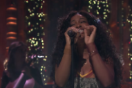 Watch SZA&#8217;s Stirring Performance Of &#8220;Supermodel&#8221; On <em>Fallon</em>